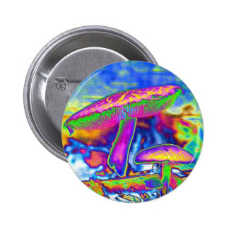 Hippie Dippie Trippy 'Shrooms Pin
