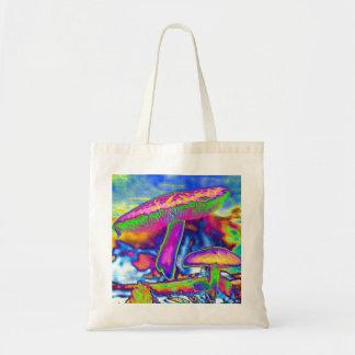 Hippie Dippie Trippy Tote Canvas Bag