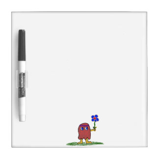 Hippie Dippy Flower Dry-Erase Board