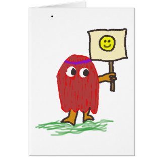 Hippie Dippy Smile Card