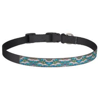 Hippie Dolphin Dog Collar