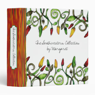 hippie doodle hot chili peppers recipe binder
