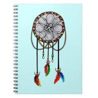Hippie Dream Catcher Notebook