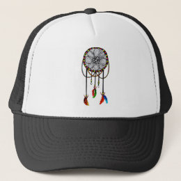 Hippie Dream Catcher Trucker Hat