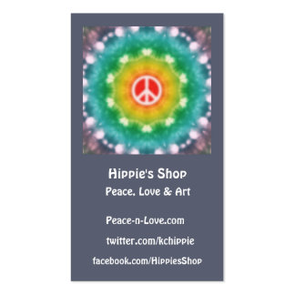 Hippie Dream Custom Business Cards