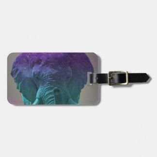 Hippie Elephant Luggage Tag