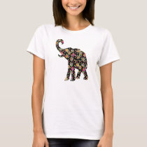 Hippie Elephant T-Shirt