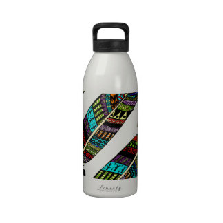 Hippie Feathers Drinking Bottle