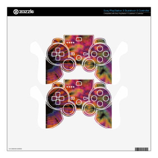 Hippie feliz mando PS3 calcomanía