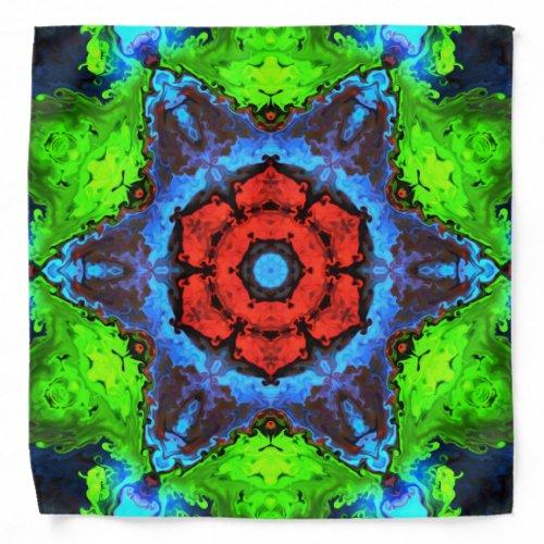 Hippie Flower Bandana