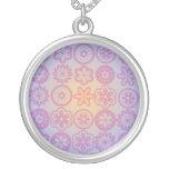 Hippie Flower Design Pendants