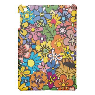 Hippie Flower Garden iPad Mini Covers