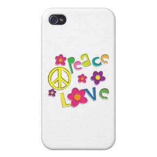 hippie iPhone 4 carcasas