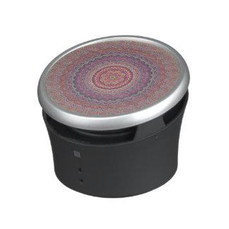 Hippie geometric mandala bluetooth speaker