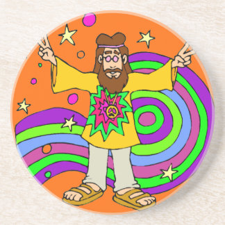 """""""hippie gifts"""" """"father's day"""" coaster"""