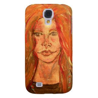 hippie girl galaxy s4 cover