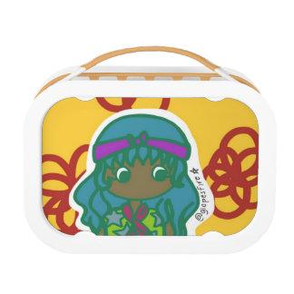 Hippie Girl Yubo Lunch Box
