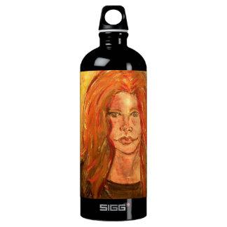 hippie girl PeaceLove SIGG Traveler 1.0L Water Bottle