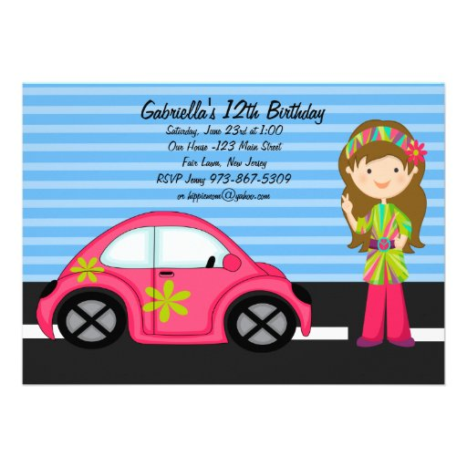 385+ Hippy Party Invitations, Hippy Party Announcements ...