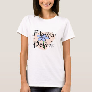 Hippie GroovyFlower Power Lady T-Shirt