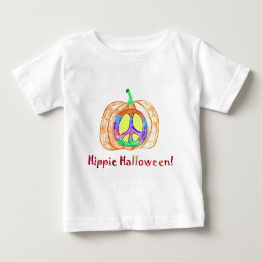Hippie Halloween! Baby T-Shirt