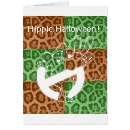 ¡HIPPIE Halloween! Tarjeta De Felicitación
