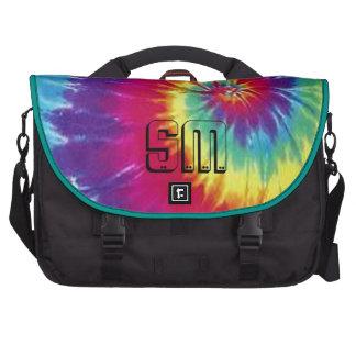 Hippie Heaven Tie Dyed monogram Laptop Computer Bag