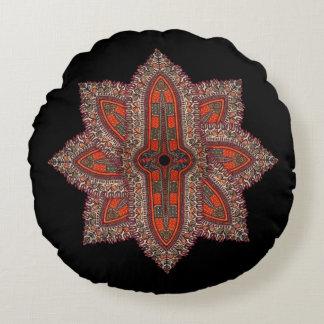 Hippie Indian Style Round Pillow
