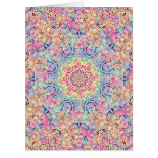 Hippie Kaleidoscope   Giant Greeting Cards