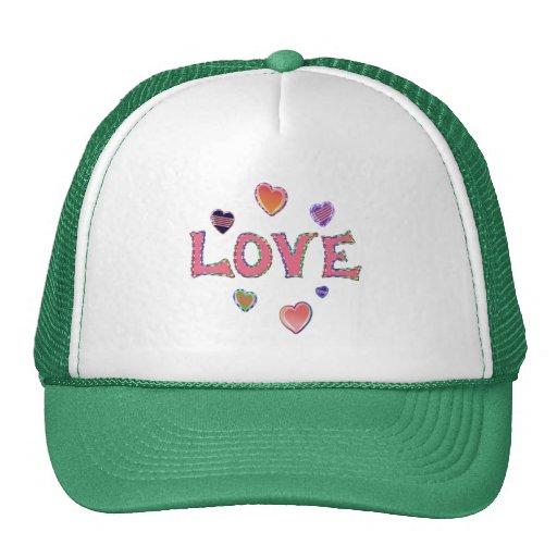 Hippie Love 60s Trucker Hat