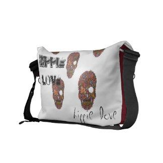 Hippie love bag courier bags