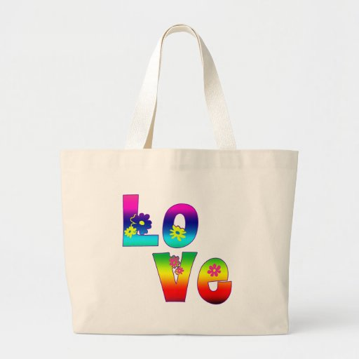 Hippie LOVE Canvas Bag