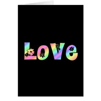 Hippie Love Card
