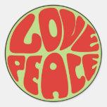 hippie love peace dicho