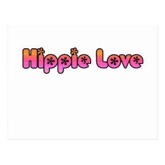 Hippie Love Postcard