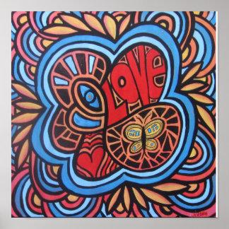 Hippie Love Posters