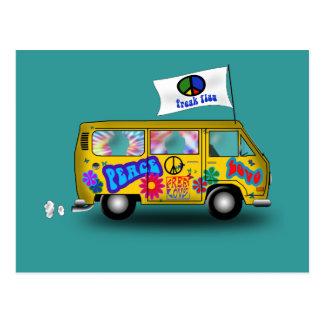 Hippie mágico Van Postal