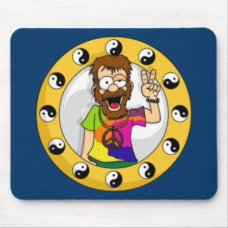 Hippie Mouse Pad
