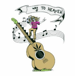 hippie music retro vector design photo cutout