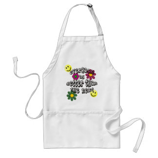 hippie next day adult apron