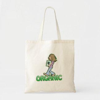 Hippie ORGÁNICO con el alimento biológico Bolsa Tela Barata