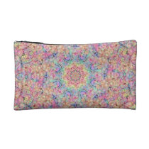 Hippie Pattern  Cosmetic  Bag