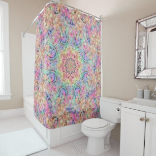 Hippie Pattern Custom Shower Curtain