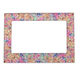 Hippie Pattern   Magnetic Picture Frames