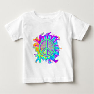 Hippie Peace Paint Baby T-Shirt
