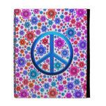 Hippie Peace Sign iPad Folio Covers