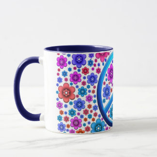 Hippie Peace Sign Mug