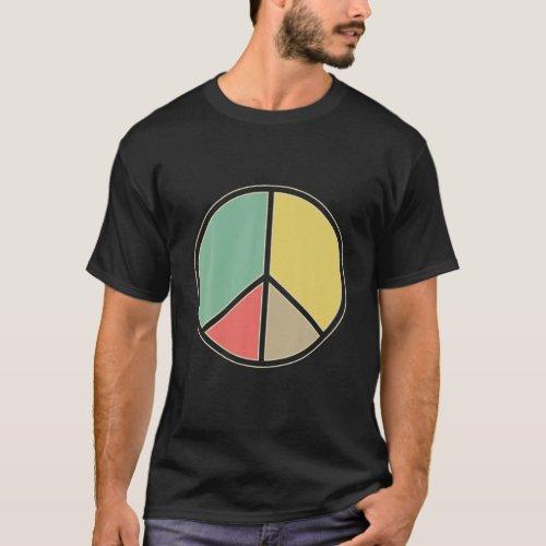 Hippie Peace Sign Peace T-Shirt