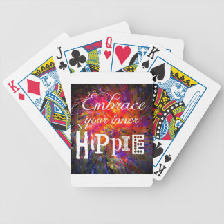 Hippie Bicycle Playing Cards