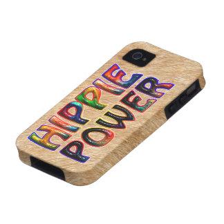 HIPPIE POWER Case-Mate iPhone 4 CASES